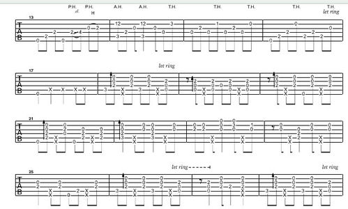 怎么形容弹吉他弹得好