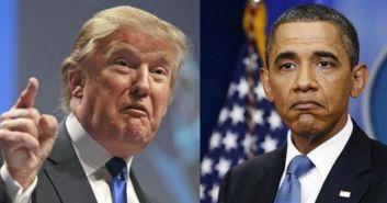 特朗普和奥巴马