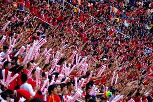 苏宁主场必现那一抹红,广州球迷兵分多路为恒大助威