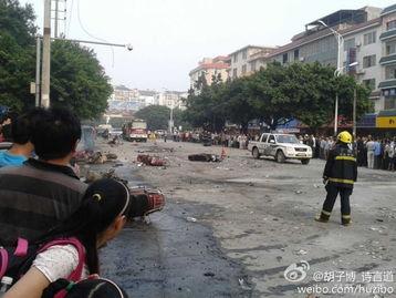 广西桂林市八里街发生一起爆炸事故