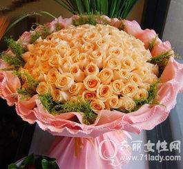 香槟玫瑰代表什么意思 香槟玫瑰的花语及香槟玫瑰图片 2
