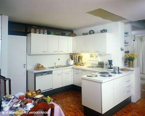 厨房一景图片