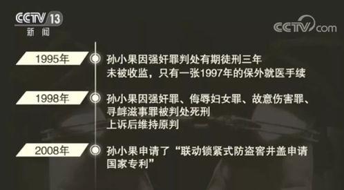 孙小果案的承办人已有多人被查据澎湃新闻消息,云南省第二监狱一名监区长也因孙小果事件被控徇私舞弊、违规减刑.