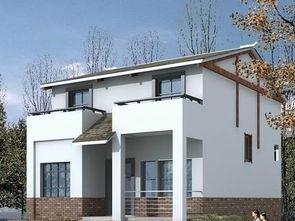 2018新农村白色别墅设计图 房天下装修效果图