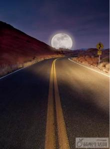 清凉皎洁月,天涯共此时
