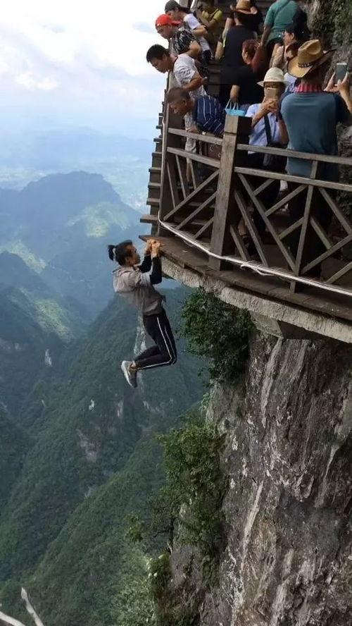 国内极限高空挑战第一人咏宁长沙失手坠楼身亡,看图腿软
