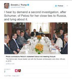 特朗普第二次发布的推文
