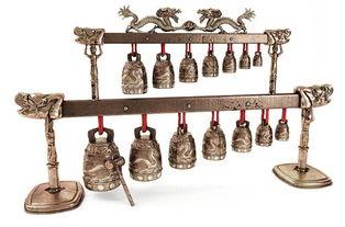 家居装饰品古代乐器编钟MAX素材