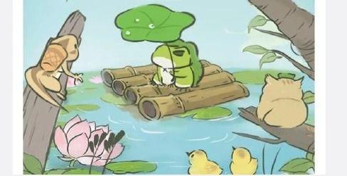 游戏旅行青蛙将拍摄电影,网友我只操心谁演青蛙