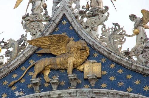 圣马可飞狮典故