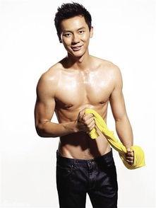 李晨赤膊拍运动写真 紧实肌肉显男性魅力