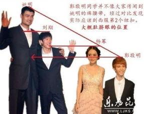 中国成年男女平均身高公布 你拖后腿了没