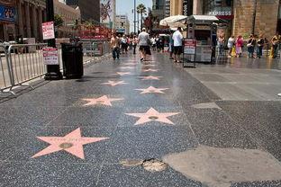 好莱坞星光大道洛杉矶