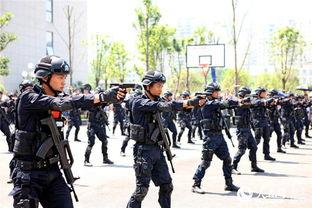 高清组图黄石公安举办警营欢乐行亲子活动