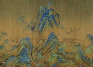 王希孟|千里江山图(局部)