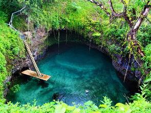 ...To sua Pool) Tosua 意思是巨大的游泳深水池.安和苏阿池邻近萨摩...