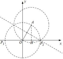 ∵点a的纵坐标为$\sqrt{3}$,∴rt△aoh中,oh=$\frac{ah}{tan60°}$=1,②当点a在第二象限时,同理可得a=-1.故答案为:±1.本题主要考查了等腰三角形的判定与性质以及解直角三角形的运用,解决问题的