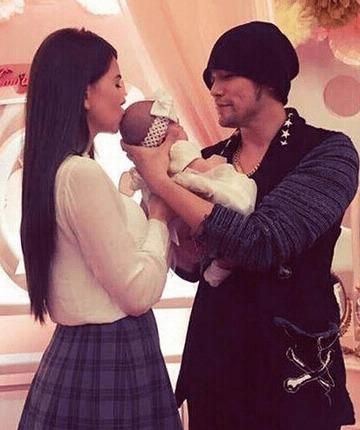 周杰伦、昆凌与女儿小周周