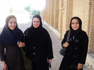 神秘面纱下的绝色伊朗美女