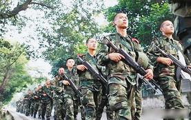 数千军警在歌乐山布控,搜查周克华。
