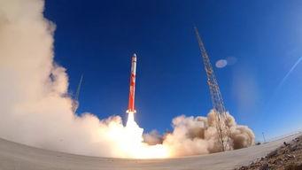 朱雀一号固体运载火箭发射画面