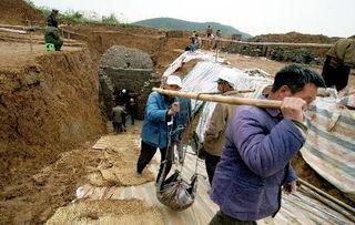 中国古墓发掘有哪些