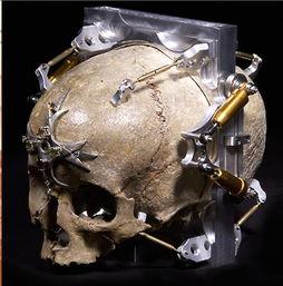 骷髅头主题针孔相机-恐怖骷髅头 难得一见的DIY针孔相机赏