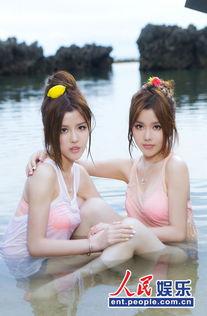 双胞胎组合By2绝美水中湿身照 俏皮青春迎战夏日