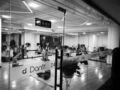 上海的24小时健身房