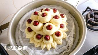 红枣花馒头的家常做法