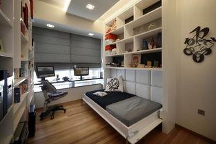 卧室书房设计图 空间的极致利用