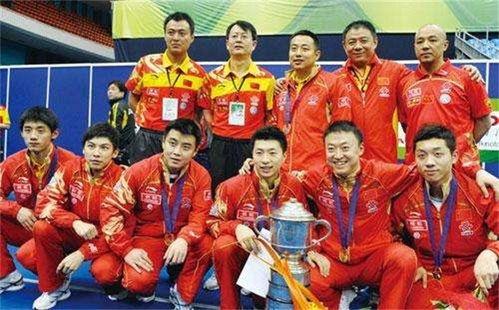 中国乒乓球冠军有哪些人