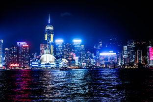 夜. 一个人的香港