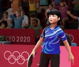 东京奥运推出虚拟游戏吸引观众参与日乒小魔女为游戏主角配音