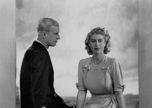 女王和丈夫菲利普亲王(1947)