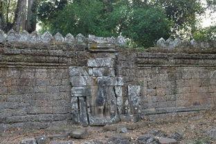 Cambodia游柬埔寨巴肯山 圣剑寺 涅磐宫kud6