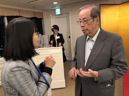 日本前首相福田康夫一山可以容下多虎中日并非互为威胁