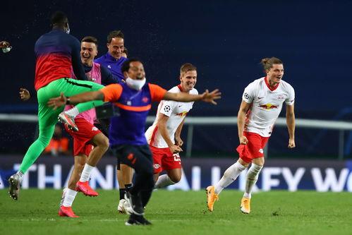 足球欧冠莱比锡队晋级四强