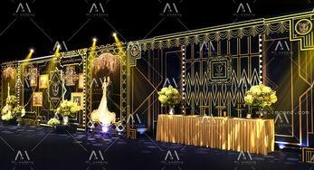 盖茨比风格婚礼 设计 舞台美术 空间 建筑 lindsa